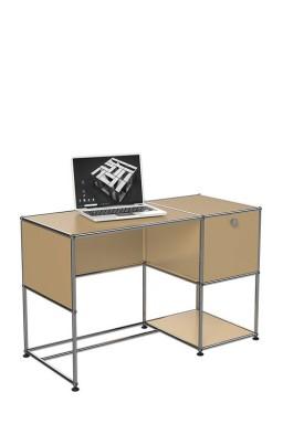 USM Haller - Bureau avec espaces de rangement USM Haller Home OfficeB21