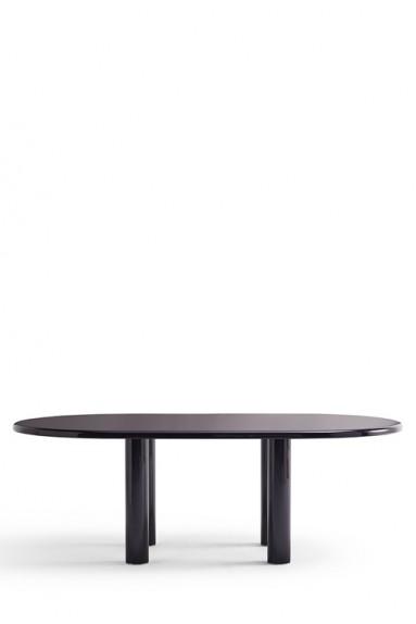 Knoll - Smalto Table Ovale 180