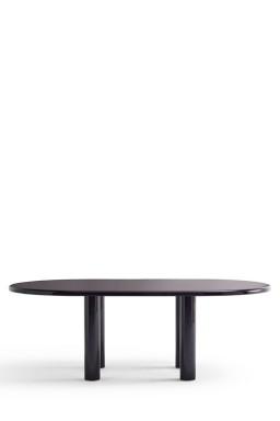 Knoll - Smalto Oval Table 180