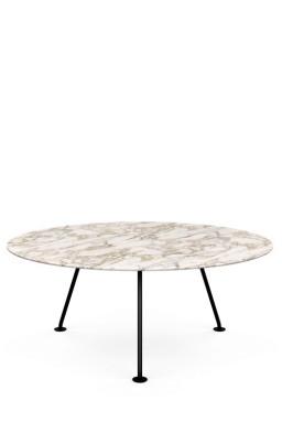 Knoll - Grasshopper Round High Table 180