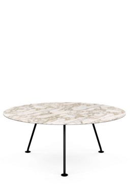 Knoll - Grasshopper Table Haute Ronde 180