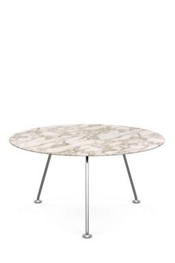 Knoll - Grasshopper Round High Table 137