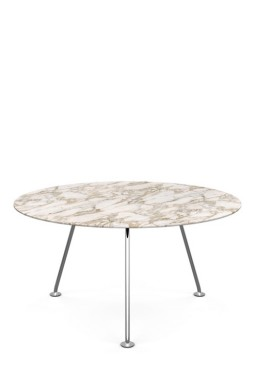 Knoll - Grasshopper Table Haute Ronde 137
