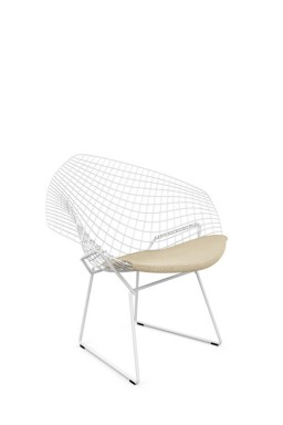 Knoll - Bertoia Diamond Chair with Seat Pad