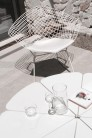 UBER-MODERN - Bertoia Diamond Chair avec Galette d'Assise