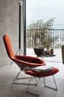 UBER-MODERN - Bertoia High Back Chair