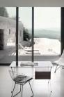 UBER-MODERN - Bertoia Side Chair avec Galette d'Assise