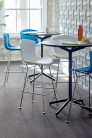 UBER-MODERN - Bertoia Side Chair en Plastique