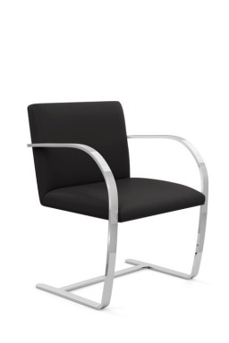 Knoll - Brno Flat Bar Side Chair Mies Van Der Rohe