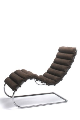 Knoll - MR Lounge Collection Chaise Longue Mies Van Der Rohe