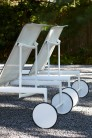 UBER-MODERN - Schultz Collection 1966 Adjustable Sun Bed