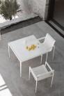 UBER-MODERN - Schultz Collection 1966 Petite Table Haute Carrée