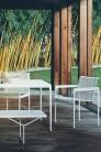 UBER-MODERN - Schultz Collection 1966 Grande Table Haute Carrée