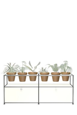 - USM Haller World of plants sideboard QS M47 152 x 37 x h64 cm