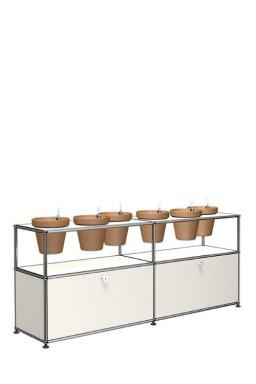 - USM Haller World of plants sideboard QS M47 152 x 37 x h64 cm