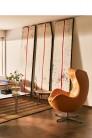 Fauteuil EGG™ revêtement cuir par Arne Jacobsen